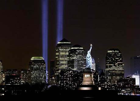 BBC Radio 4 New York 911 Tribute in Light